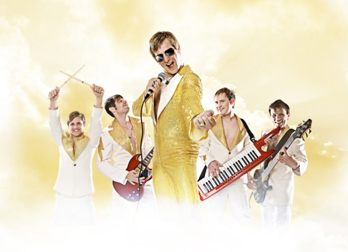 Ganz in Gold: Van Backer & Band