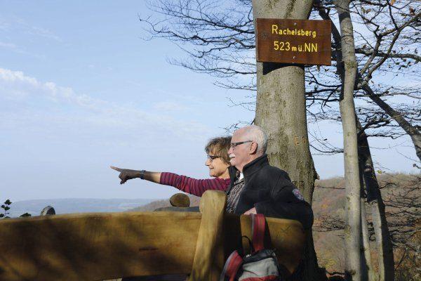 Wanderung auf dem Rachelsberg