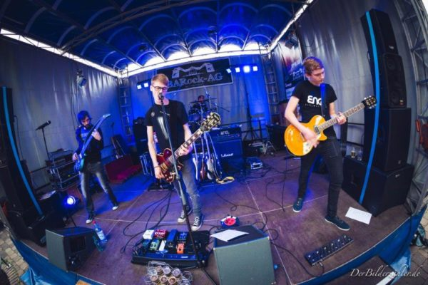 Halting Perception auf dem City Rock Festival 2016 (Foto: Gunter Best)