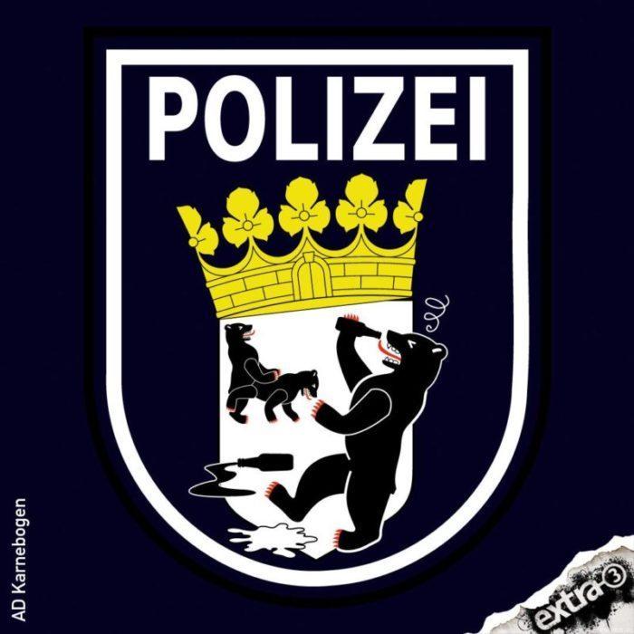 170731_Caricatura_Polizei_Berlin_Wappen