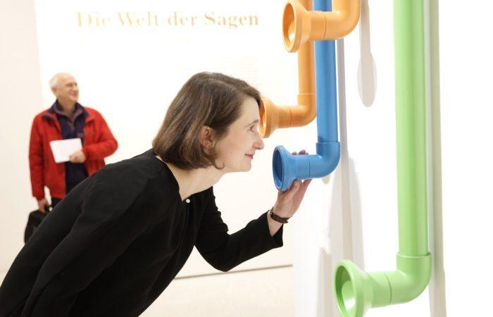 Sonderpräsentation HörenSAGEN: Rundgang mit Susanne Völker