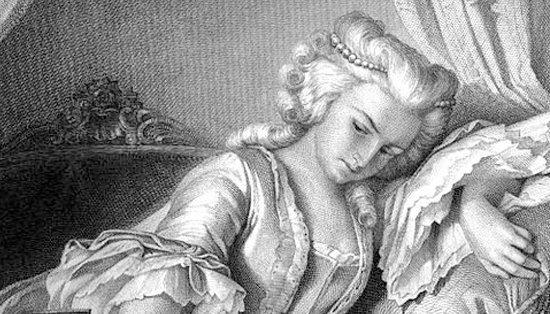 Lady Milford aus Schillers ''Kabale und Liebe'' an dessen das Stück ''Kabale und Liebe?'' der Theaterwoche Korbach 2018 angelehnt ist.