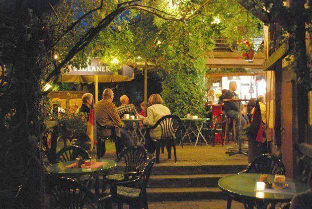 Im Mai eröffnet das Kings Rock-Café wieder den Biergarten.