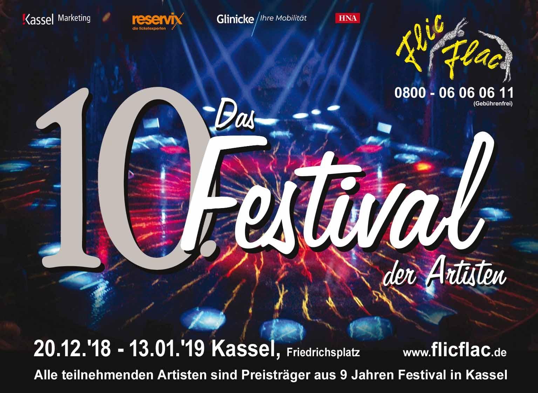 Flic Flac - 10. Festival der Artisten