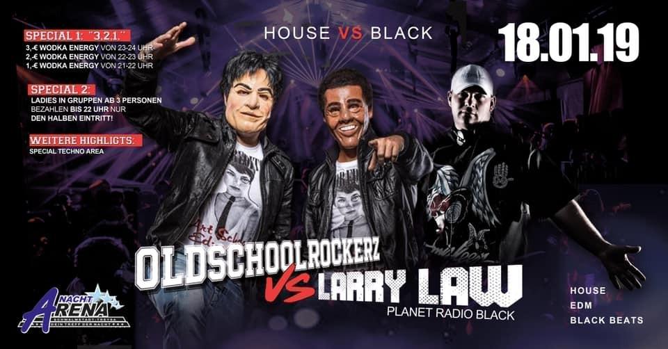 Oldschoolrockerzz v.s.Larry Law (Mega-Event)