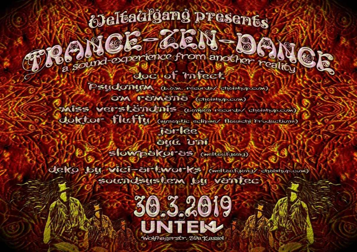 TRANCE-ZEN-DANCE - a sound-experience from another Reality