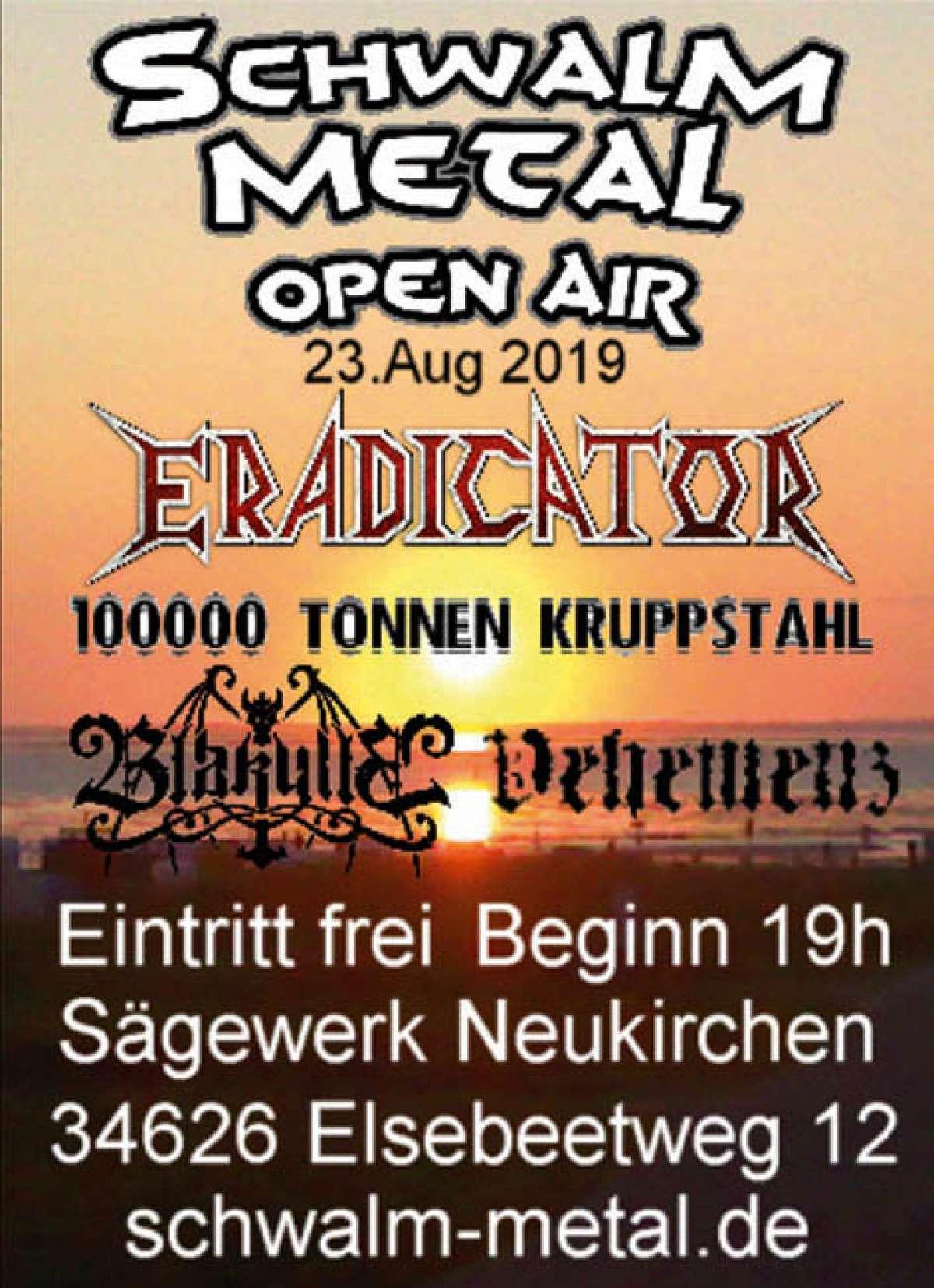 Veranstaltungen & Events Genre »Metal« in deiner Nähe...