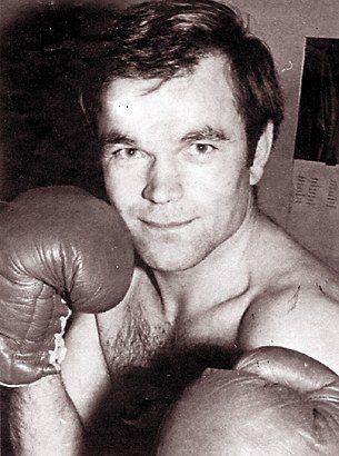 Axel Traxel als aktiver Boxer Anfang der 70er