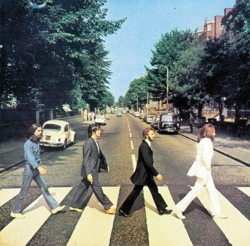 Abbey Road - eines der bekanntesten Beatles Alben