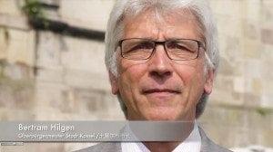 OB Bertram Hilgen begrüßt documenta-Gäste per Video