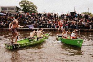 Seeschlacht auf der Lahn - Marburg siegreich beim Student Boat Battle