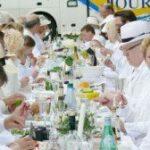 Dîner en blanc – Dinner in Weiß in Kassel