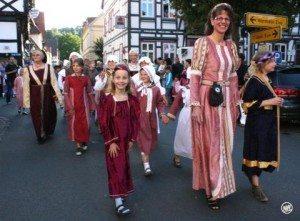 Lebendige Geschichte! Kälkenfest in Warburg