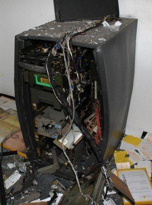 Kassel: Einbruch in Bankfiliale - Unbekannte sprengten Geldautomaten