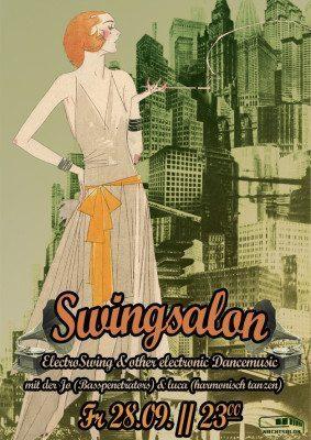 Zurück in die 20er - Swingsalon im Nachtsalon
