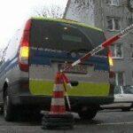 Überfall auf Tankstelle in Bischhausen
