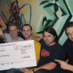 """""""E-lectribe goes Charity"""" ein voller Erfolg – unglaubliche 7.000 Euro gehen an ShelterBox"""