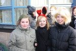 Jecken trotzen Kälte beim Rosenmontagsumzug in Volkmarsen