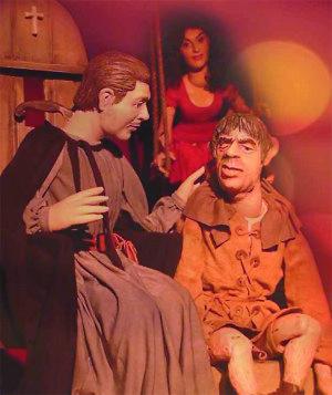 """Auch der """"Glöckner von Notre Dame"""" wird bei den Puppenspielwochen gezeigt."""