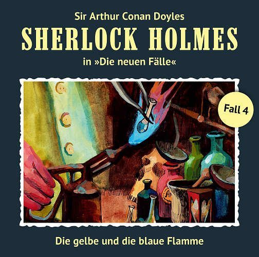 Sherlock Holmes: Die neuen Fälle - Die gelbe und die blaue Flamme (4)
