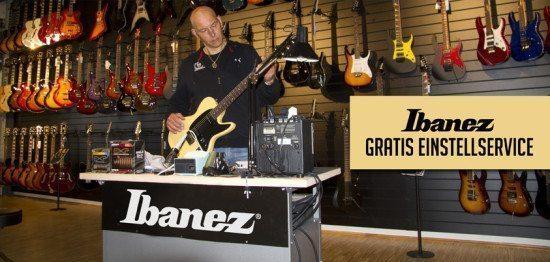 Wellness-Tag für Ibanez-Gitarren bei Farm-Sound in Kassel!