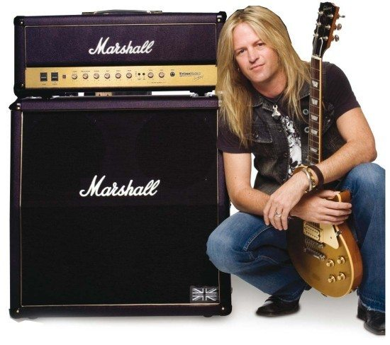 Doug Aldrich im Marshall Museum in Friedland