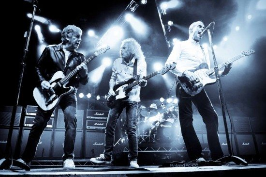 Status Quo - The Frantic Four-Besetzung (Foto-Credit Danny Clifford)