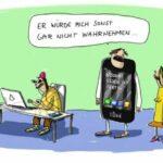 Karikaturen-Ausstellung in Kassel:  Dick Butter und drei Scheiben Wuast