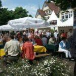 Grün und weiß! Stadtfest in Delbrück