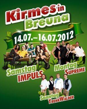 Kirmeszeit in Breuna!