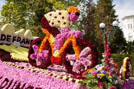 Stadtfest Bad Wildungen mit Blumenkorso