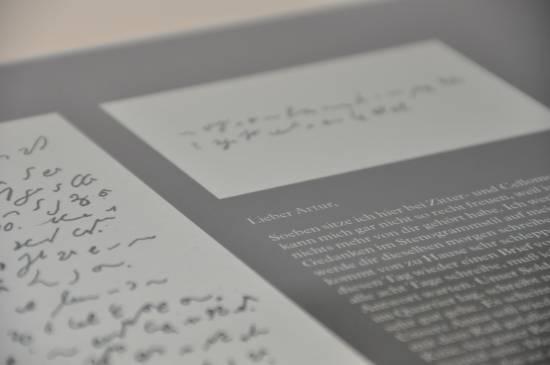 Briefe aus dem Konzentrationslager, Foto: Archiv Kreismuseum Wewelsburg