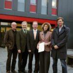 Feierstunde an der Hochschule OWL: Erster eigener Neubau eingeweiht