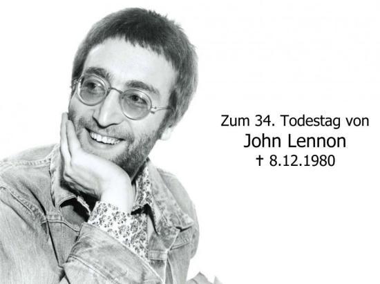 John Lennon PI Todestag-1