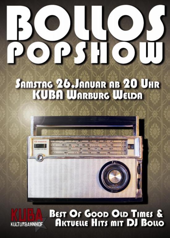Bollos Popshow im KuBa: Interview mit DJ Bollo!