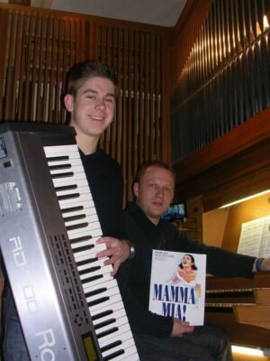KuNa 2015 Dennis Pape mit Max Jenkins Orgel + E-Piano