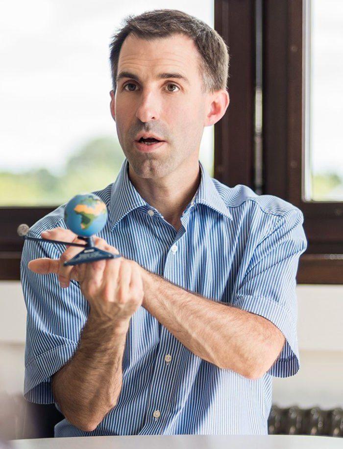 Dr. Björn Voss von der LWL