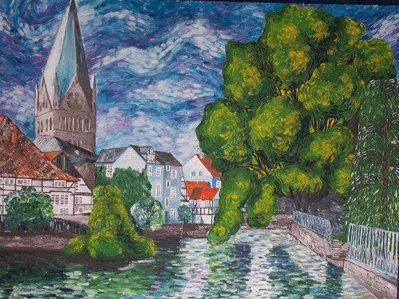 """""""Soester Altstadt"""" von Thomas Gomolzig"""