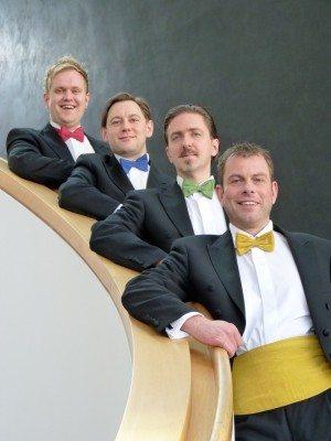 Fracksausen: Tobias Schäfer (1. Tenor), Mark Mönchgesang (2. Tenor), Manuel Meyer (1. Bass), Heiko Mauchel (2. Bass)