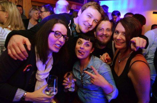 Bild von der Red Horse Party vom 17.1.2015