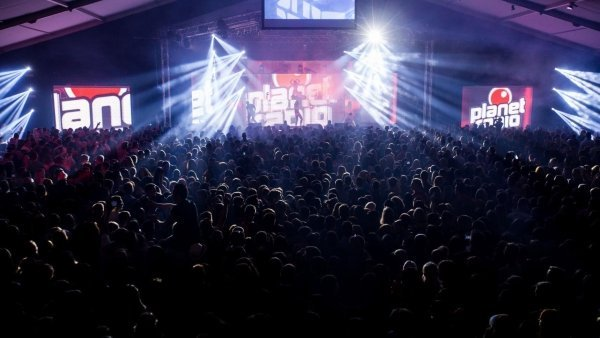 Planet Radio Party Attack auf dem Hessentag in Herborn