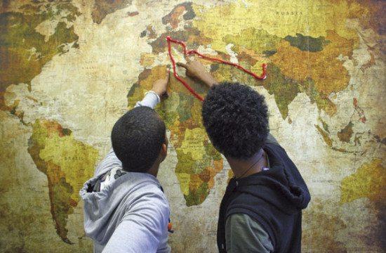 Flüchtlingsstrecke nach Deutschland