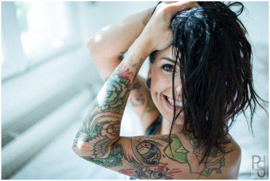 Körperkunst auf der Kasseler Tattoomenta 2015