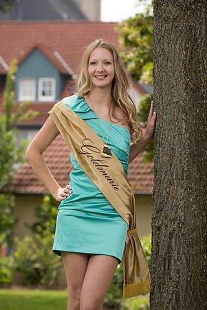 Die Korbacher Goldmarie Corinna Behle. © Wirtschaftsförderung Korbach Goldrichtig GmbH  2016
