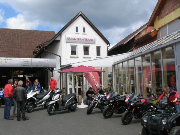 Frühlingsfest bei Motorrad Laaks!