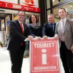 Tourist Information Bahnhof Wilhelmshöhe wird umgebaut