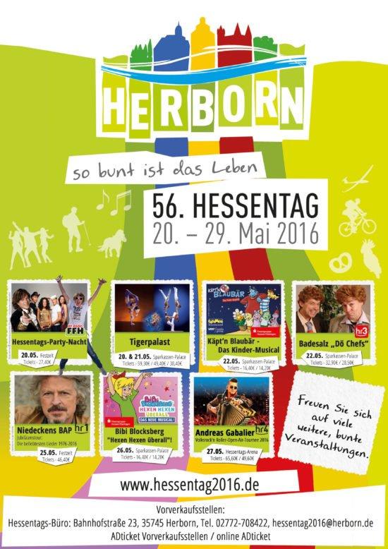Hessentag 2016 bleibt in ausgezeichneter Erinnerung – Stadt Herborn stellt Abschlussbilanz vor