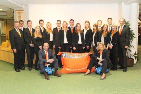 Berufsausbildung erfolgreich abgeschlossen: VR Bank HessenLand gratuliert dem besten Jahrgang aller Zeiten