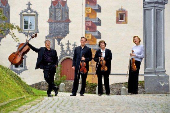 Das Verdi Quartett. Bratscherin Karin Wolf (ganz rechts) hatte die Idee für das Konzert.