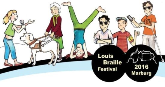 Louis Braille Festival vom 1.–3. Juli 2016 in Marburg